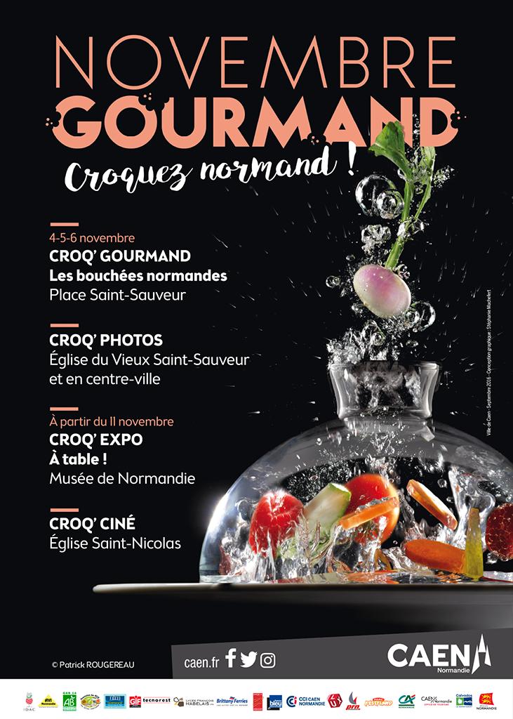 Croq Gourmand - Les recettes novembre 2016