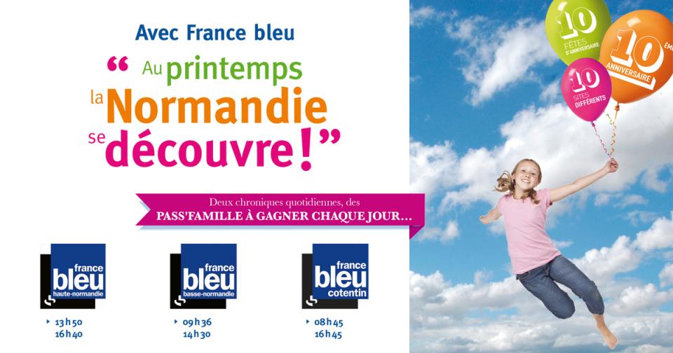 """Avec """"Au printemps, la Normandie se découvre !"""""""