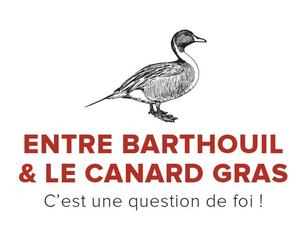 Entre Barthouil et le canard gras...