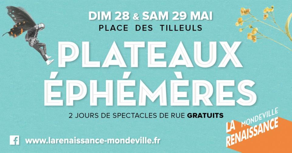 6e édition des Plateaux Éphémères