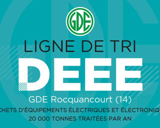 Déchets électroniques : GDE investit en Normandie